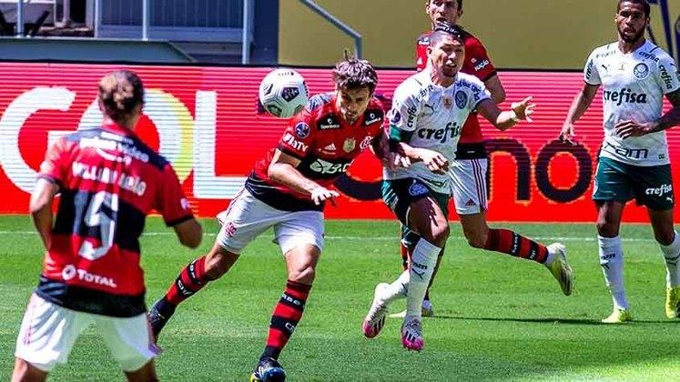 Onde assistir Flamengo x Palmeiras na TV: Rede Globo e Premiere.