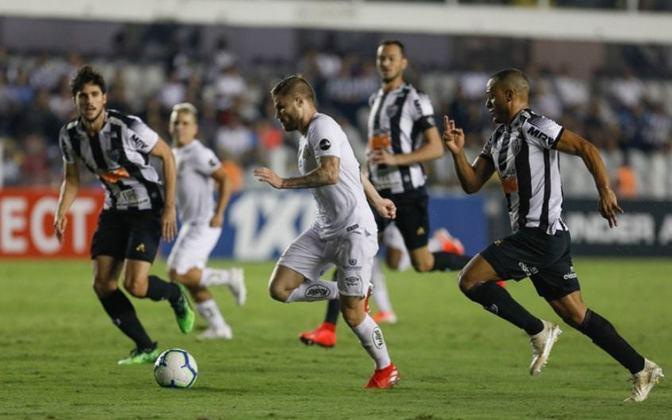 Onde assistir Santos x Atlético-MG na TV: Globo e Premiere