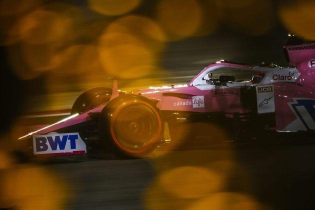 Onde termina Pérez no GP do Bahrein?