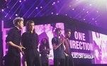 O One Direction foi formado em Londres, em 2010, com Louis Tomlinson, Harry Styles, Liam Payne, Niall Horan e Zayn Malik