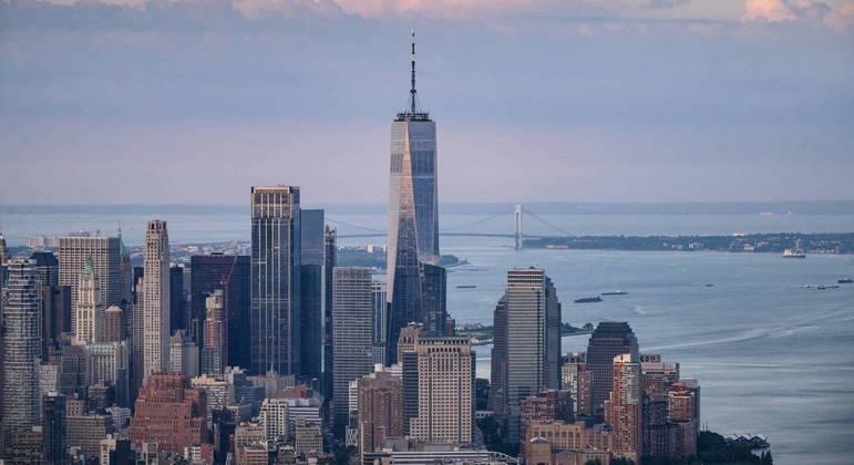Arranha-céu foi construído no mesmo local em que as Torres Gêmeas ficavam