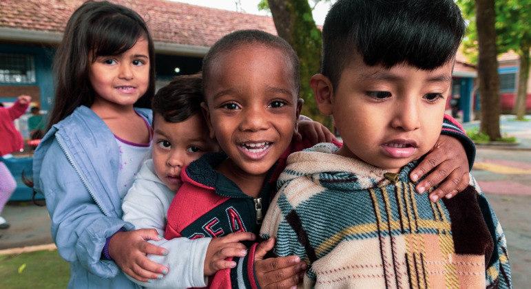ONG Aldeias Infantis, que atua em prol das crianças, é uma opção para envio de doações