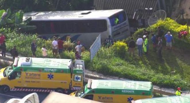 Ônibus, acidente, SP