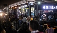 Greve do Metrô de São Paulo causa aglomerações em pontos de ônibus