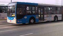 Homens tentam atear fogo em ônibus na zona sul de São Paulo