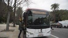 Ônibus autônomo começa a circular em cidade da Espanha