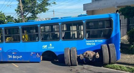 Acidente foi registrado no bairro São José, em BH