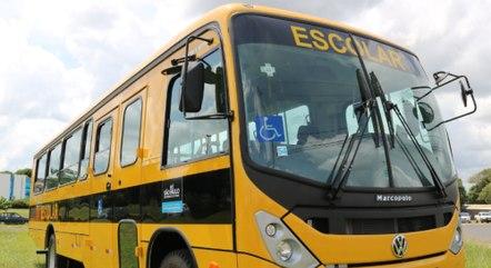 Ônibus recebido pelo município de Matão