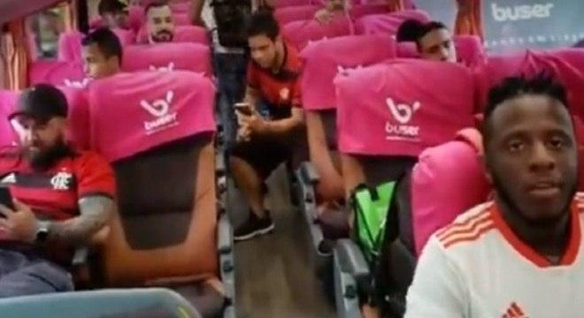 Torcedores do Fla estão empolgados com a viagem até Lima