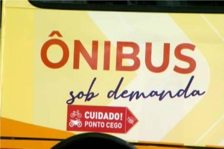 Ônibus sob demanda já estão sendo testados em BH