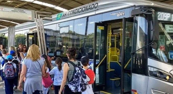 Para atender demanda por transporte, mais 312 ônibus estão em circulação