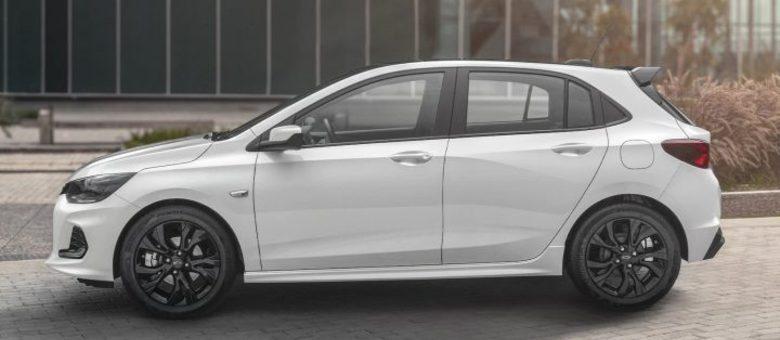Detalhes na cor preta e rodas exclusivas farão parte do Onix RS com motor 1.0 turbo de 116cv