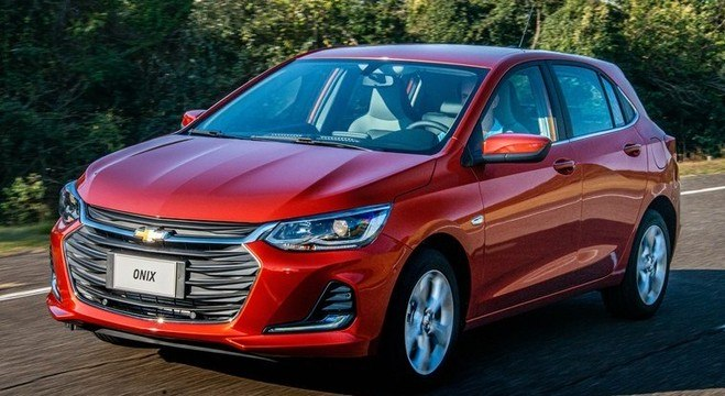 Chevrolet Onix teve 7.905 unidades vendidas