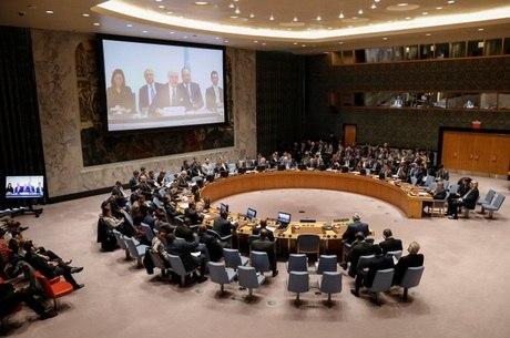 Rússia vetou resolução esboçada pelos EUA