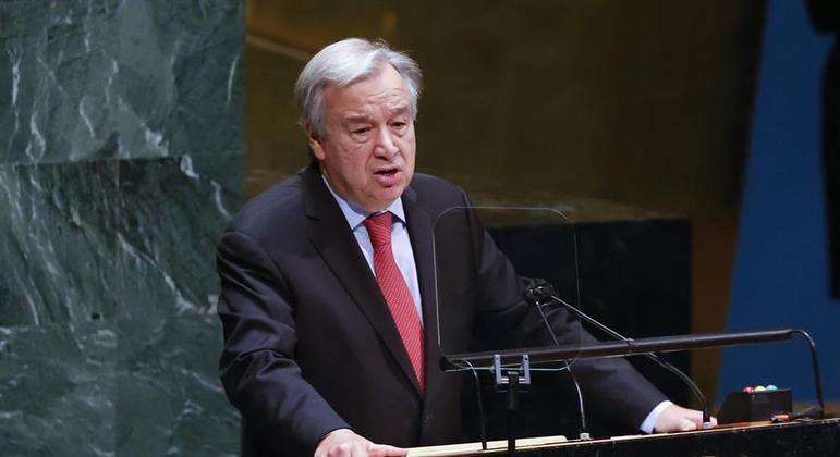 Português Guterres foi reconduzido ao cargo pela Assembleia Geral da ONU