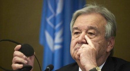 António Guterres, presidente da ONU