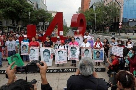 Jovens estudantes desapareceram em 2014