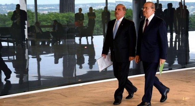 Lorenzoni se reuniu com o ministro Eliseu Padilha para discutir a transição de governo