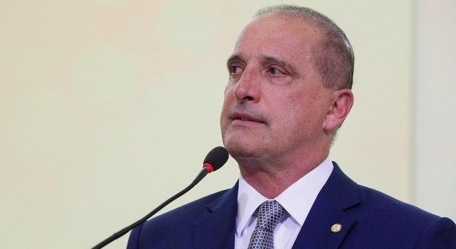 O ministro da Casa Civil, Onyx Lorenzoni