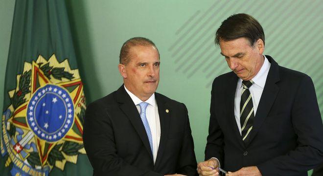 O ministro Onyx Lorenzoni falou de encontros do presidente Bolsonaro com partidos