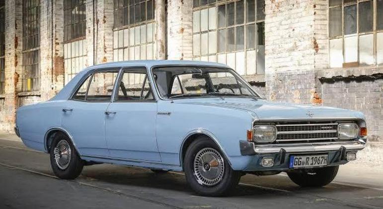 Opel Rekord C deu origem ao nosso Chevrolet Opala