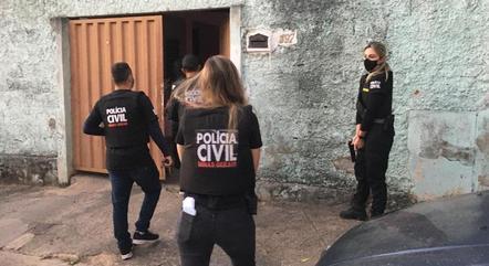 Polícia prendeu quatro suspeitos em Minas