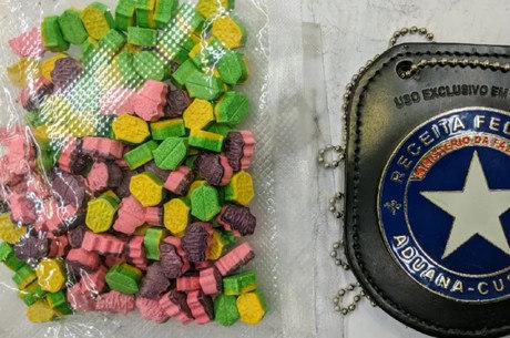200 gramas de ecstasy também foram encontradas