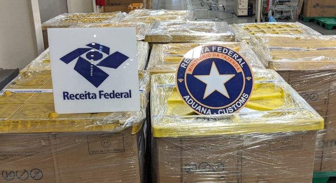 Cerca de 2,7 mil mercadorias foram apreendidas pela Receita durante a Black Friday