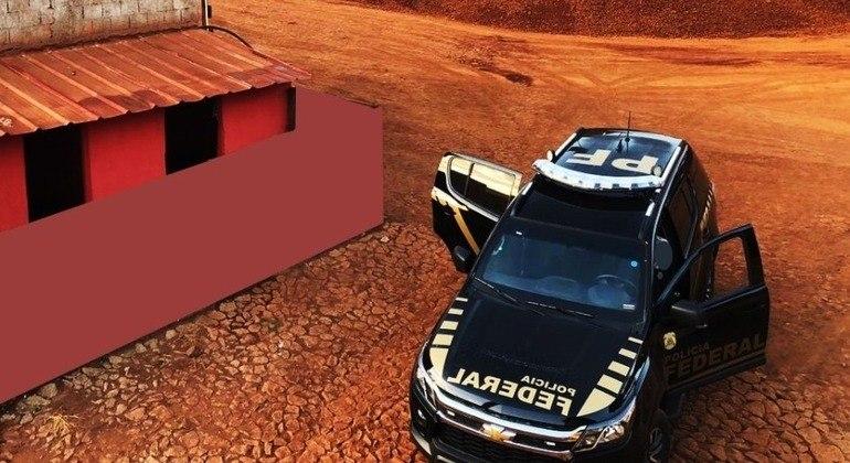 Para PF, quadrilha disfarçou extração de minério em obra de acesso à BR-040