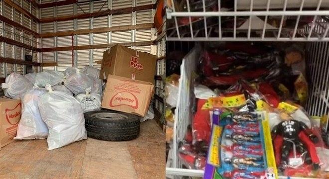 Operação Toy combate falsificação de brinquedos no Brás em São Paulo