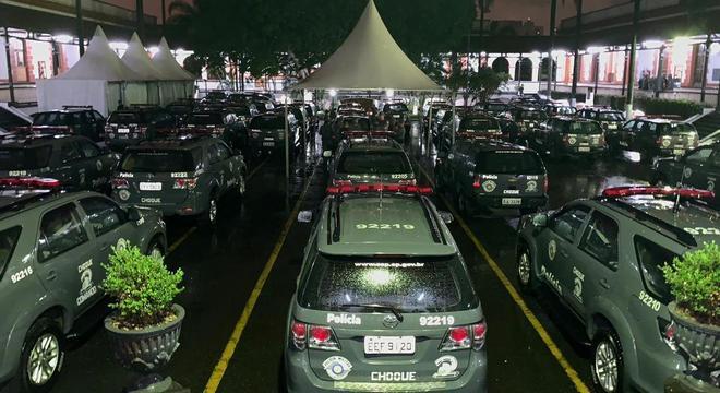 Policiais foram encaminhados para o presídio militar Romão Gomes, em SP