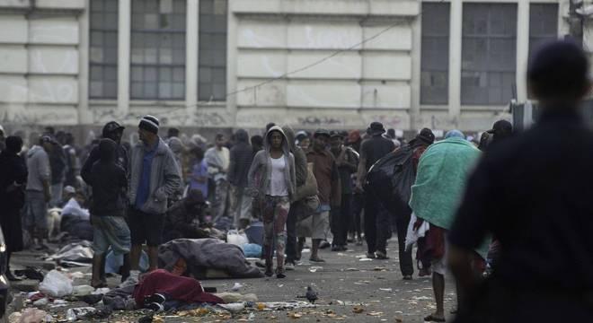 Confronto ocorreu na Cracolândia, no centro de São Paulo, nesta terça (10)