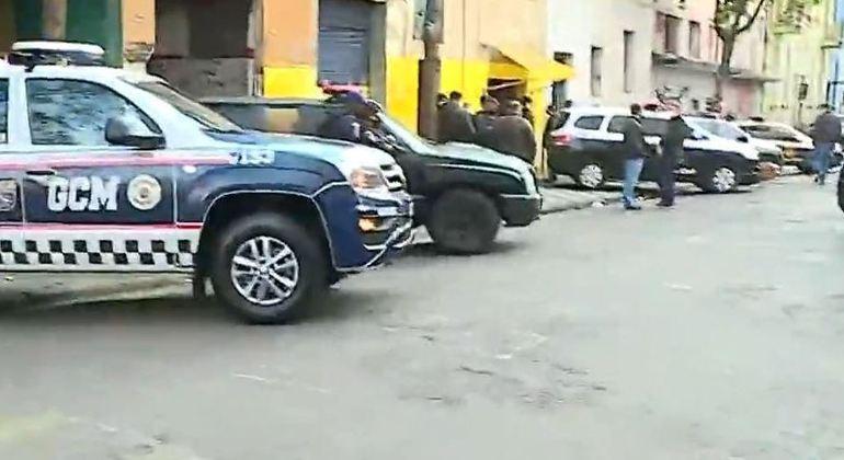 Polícia faz megaoperação na Cracolândia (SP) em busca de traficantes