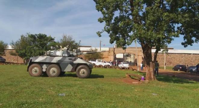 Operação da Polícia do Paraguai após fuga de presos de facção