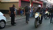 Polícia faz operação em ferros-velhos na região da Cracolândia (SP)