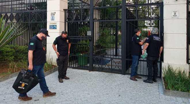 Polícia cumpre sete mandados de busca e apreensão em São Paulo