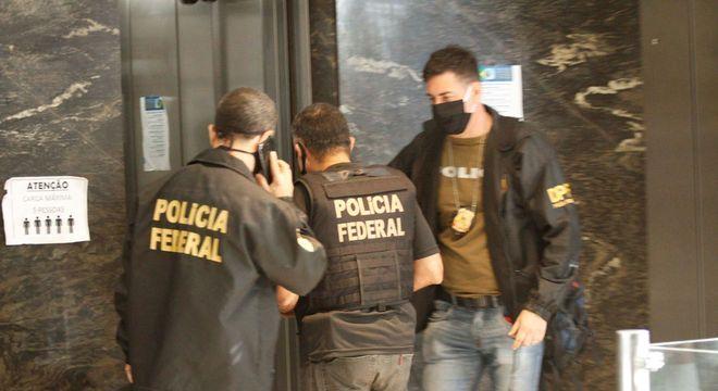 Operação Lazarus deflagrada pela Polícia Federal no Rio de Janeiro