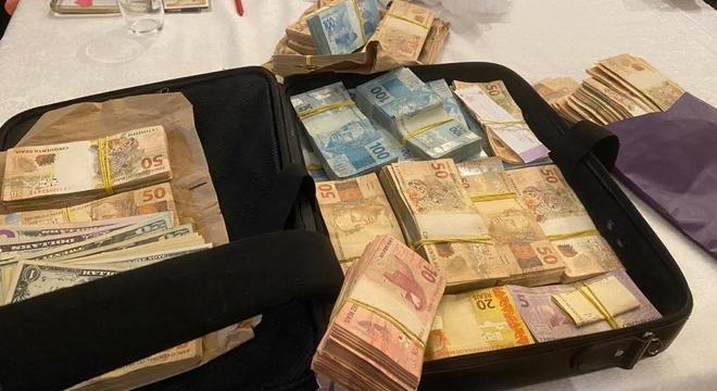 Mala de dinheiro foi encontrada na casa de Adriana Zanini, do Ibesp
