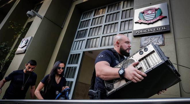 Operação da Polícia Civil realizou 92 mandados de busca e apreensão