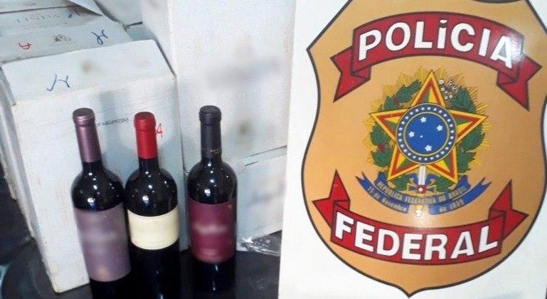 PF faz operação contra fraudes na importação de vinhos no interior de SP