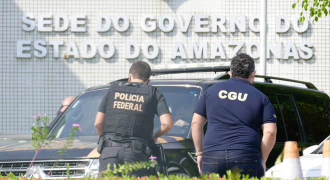 Polícia Federal deflagrou nesta quinta-feira (8) a segunda fase da Operação Sangria