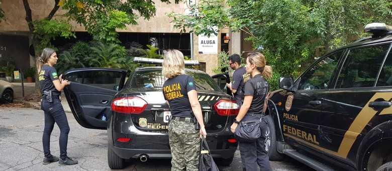 Polícia Federal fez buscas e apreensões em Minas Gerais