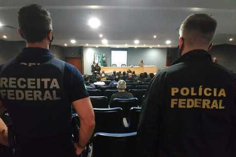 PF e Receita Federal trabalharam em conjunto