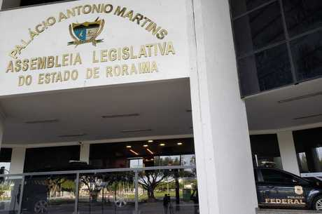 PF fez buscas na Assembleia Legislativa de Roraima