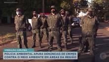 Polícia Ambiental realiza operação Curupira