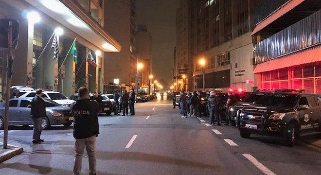 Policiais civis de São Paulo se prepararam para ação contra o crime organizado