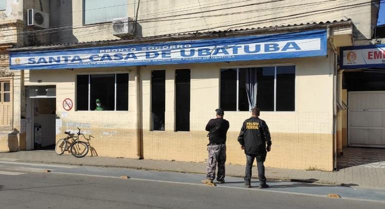 Agentes investigam fraudes em organização social que faz gestão de Santa Casa em Ubatuba