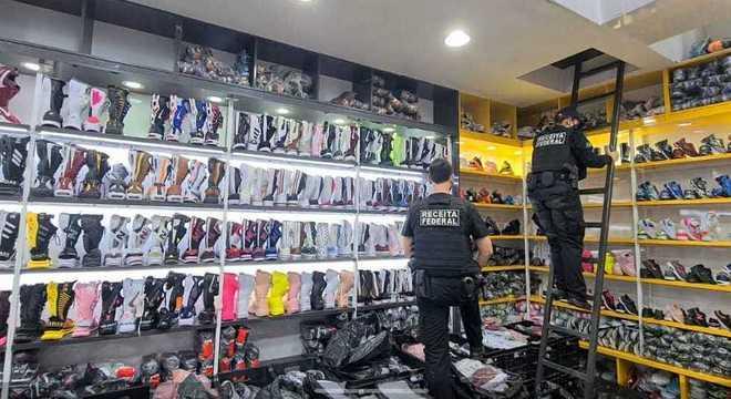 Expectativa da operação é apreender cerca de R$ 20 milhões em mercadorias