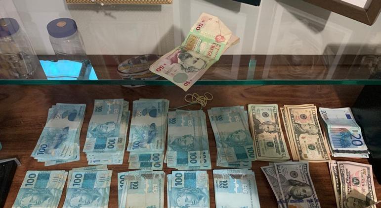 Operação Tempestade da Polícia Federal de São Paulo apreendeu dinheiro em espécie proveniente de lavagem