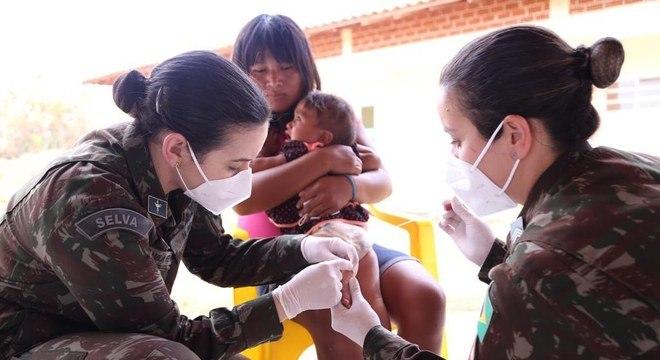 Operação Xavante atendeu população indígena no Mato Grosso